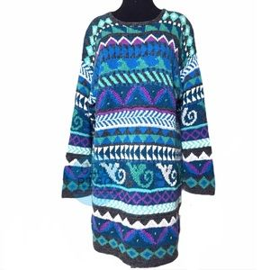 90s Long Sweater Dress